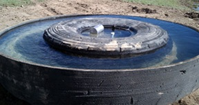 Tire Water Tanks