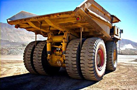 Mining Tire Recycling